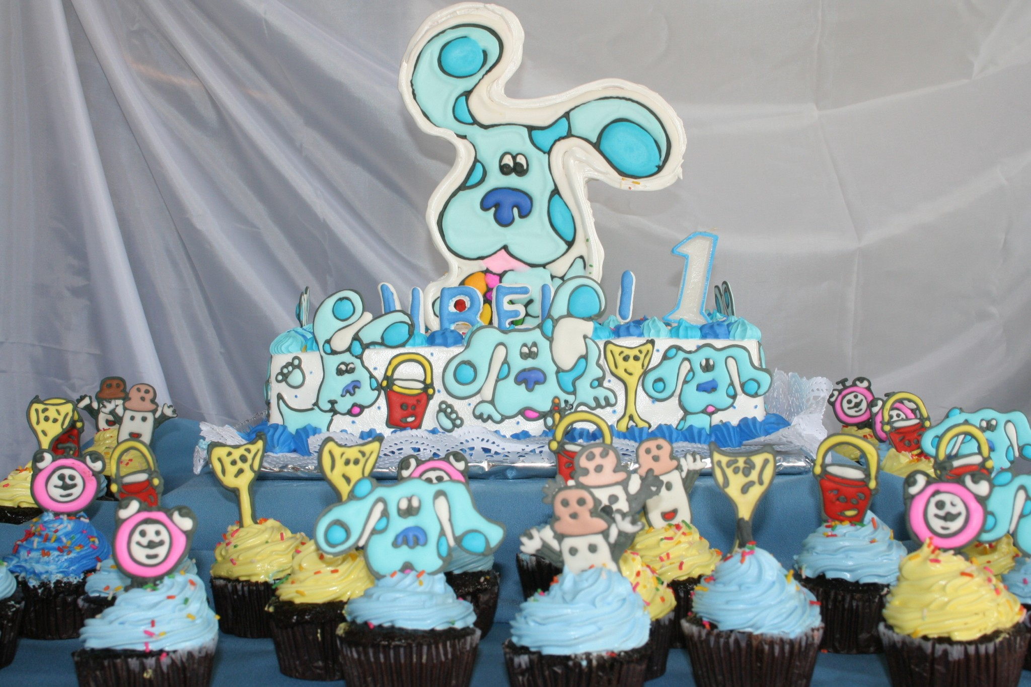 party theme idea blues clues